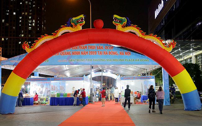 Tuần giới thiệu sản phẩm thủy sản, OCOP và xúc tiến du lịch Quảng Ninh 2020 tại Hà Đông, Hà Nội.