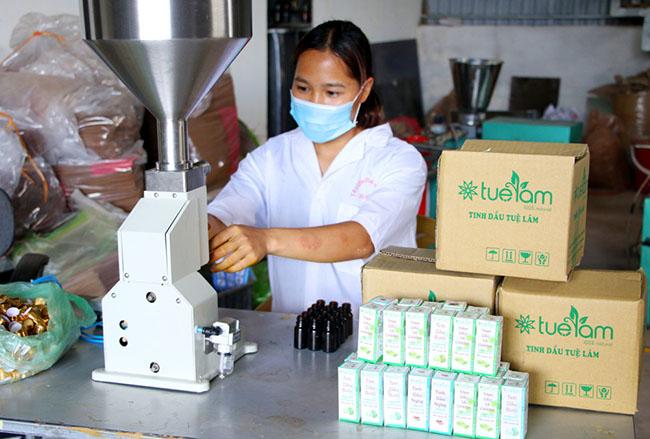 Đa dạng sản phẩm thảo dược ở Bình Liêu