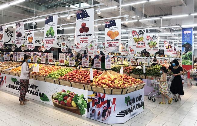 Các siêu thị chủ động nguồn hàng phục vụ người dân