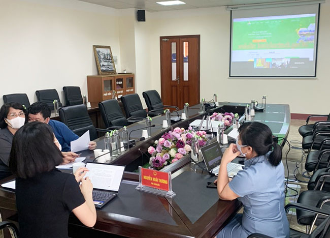 Hội nghị xúc tiến tiêu thụ bưởi Phúc Trạch, Hà Tĩnh